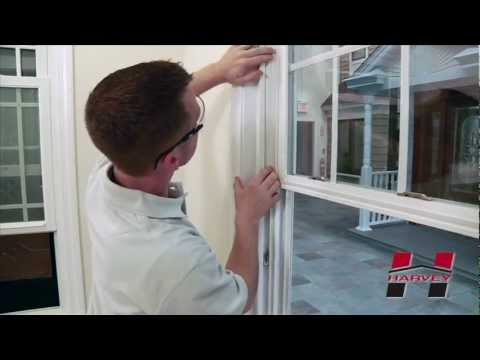 How to Replace the Terminal Housing on Your Harvey Double Hung Window