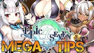 Epic Seven - MEGA TIPS For New Players [Guide]