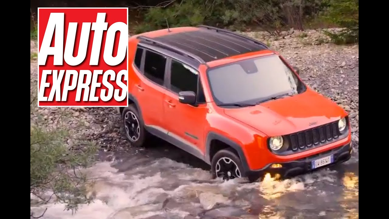 jeep renegade review tested on and off road youtube. Black Bedroom Furniture Sets. Home Design Ideas