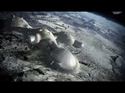 3D-printing a lunar base