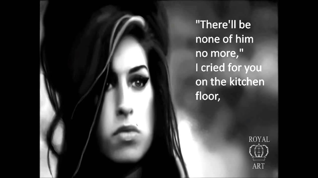 Lyrics to rehab by amy winehouse