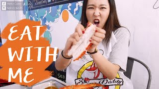 Eat With Me : The Shrimp Daddy蝦老爹 l Hello Catie