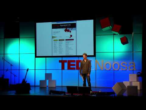 Hacking Business: Chris Drake at TEDxNoosa