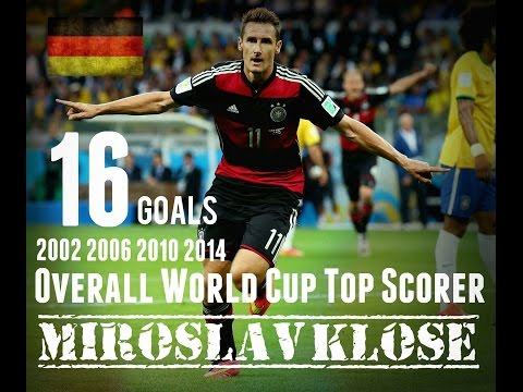 Miroslav Klose - Alle 16 World Cup Tore - All 16 Goals - World Cup 2014