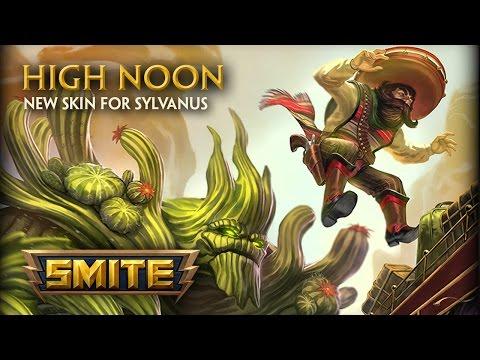 SMITE - New Skin for Sylvanus - High Noon