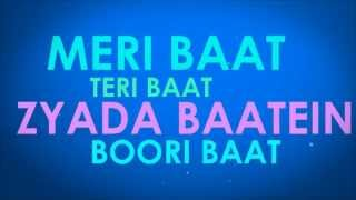 Badtameez Dil Lyrics Video | Yeh Jawani Hai deewani