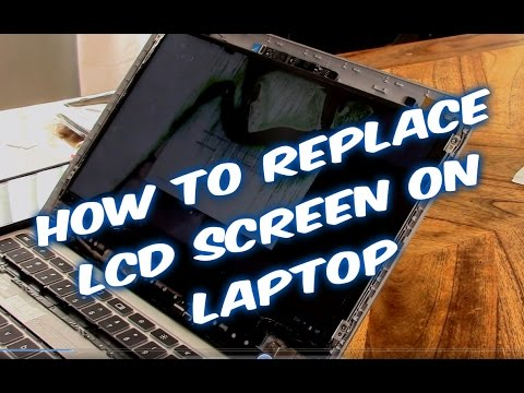 How to fix Samsung laptop LCD screen tutorial