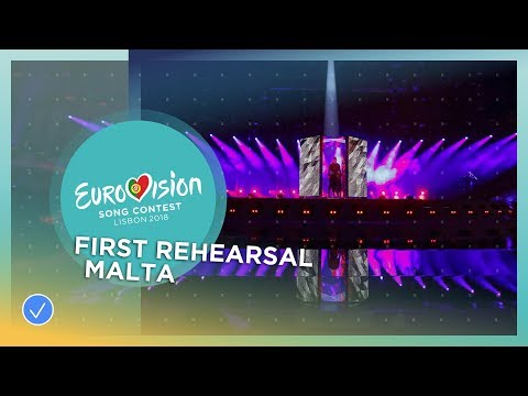 Christabelle - Taboo - First Rehearsal - Malta - Eurovision 2018
