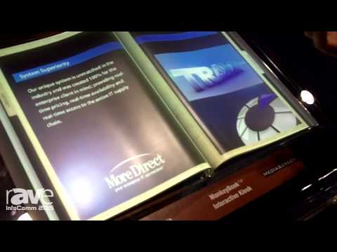 InfoComm 2015: AV Rental Depot Tells rAVe About the MonkeyBook Interactive Kiosk