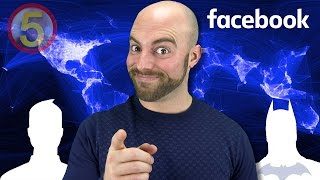 AMAZING Facts You Never Knew About FACEBOOK!-Facts in 5