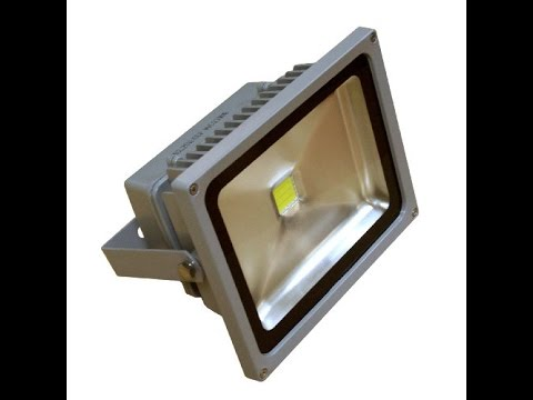 Как сделать рассеиватель света для прожектора