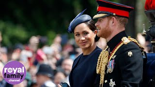Royal family depart Buckingham Palace for Trooping the Colour parade