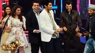Parineeti Chopra & Aditya Roy Kapur on Jhalak Dikhhla Jaa 7 30th August 2014 episode