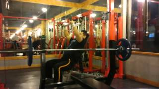 Incline bench cable pull over