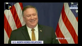 Mike Pompeo Press Briefing After Meeting With North Korea 5/31/18