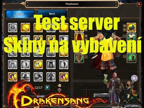 ► Drakensang Online | Test Server | Patch 223, Skiny na vybavení !| CZ Let's Play [1080p]