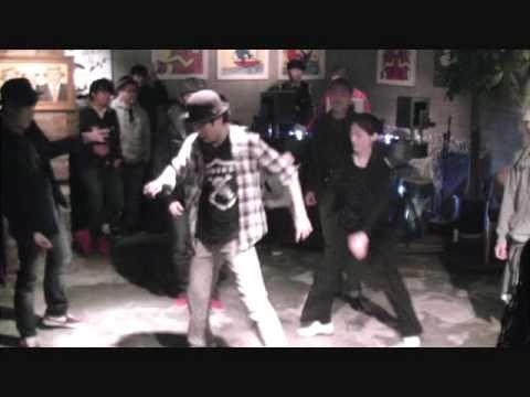 nu-jazz dance battle preliminary jam B (bebop city party @manhattan 2011.1.30)
