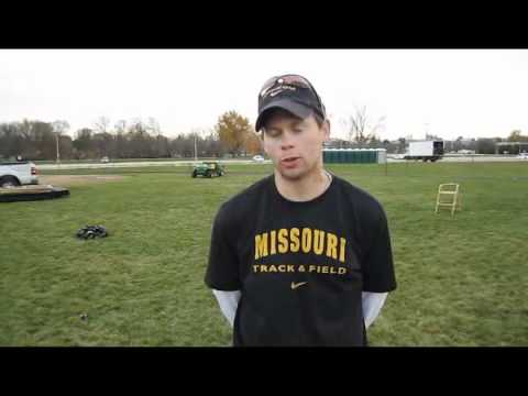 Missouri men's Coach Joe Lynn interview 2011 NCAA DI XC Midwest Regionals
