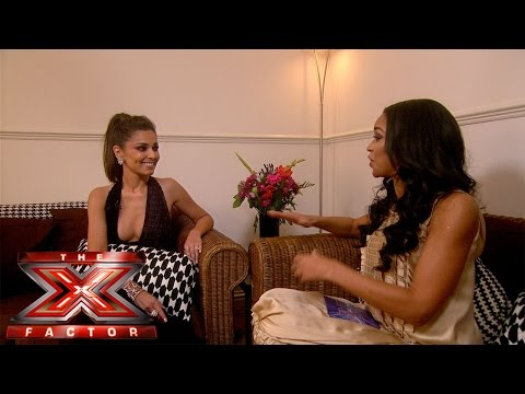 Sarah-Jane catches up with Cheryl | The Xtra Factor UK | The X Factor ...
