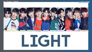 [COLOR CODED/THAISUB] WANNA ONE - Light #?????????