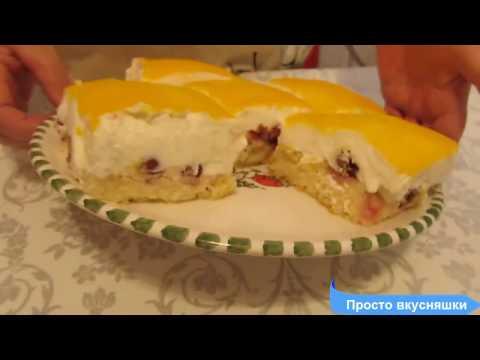 Cметанный пирог с вишней/Kirsch-Schmand-Kuchen