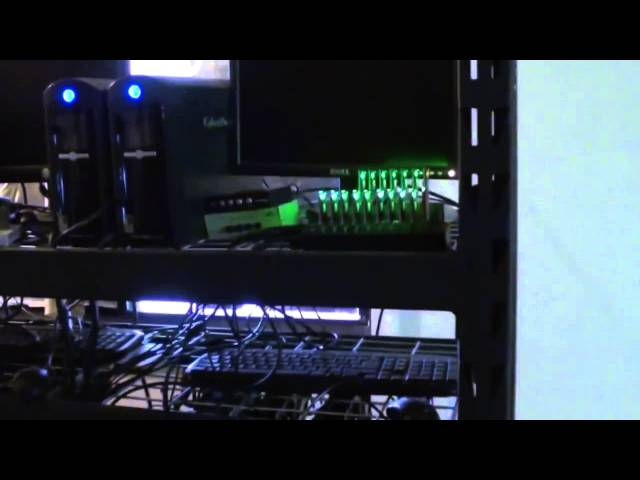 16 MHs Litecoin 24 GHs Bitcoin Mining Farm ASIC vs GPU Technology Reupload