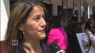 Rebecca Brando Interview - Marlon Brando Day at World Famous Pinks Hot Dogs