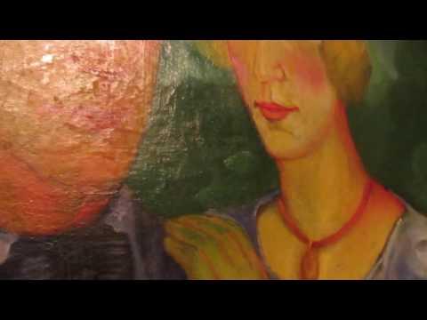 В. Н. Пальмов. Автопортрет с женой. Холст, масло. 1920-21 гг. (92×67,5)