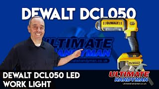 Dewalt DCL050 LED work light