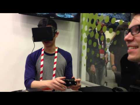 Trying Oculus Rift for the first time
