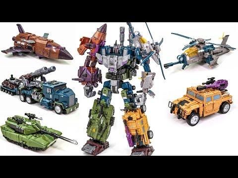 Transformers Bruticus Jinbao KO OverSized Warbotron Combiner Robot Car Toys