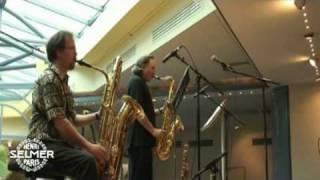 Jerry Bergonzi and Phillpe Geiss Concert at SELMER Paris