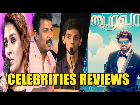 Bairavaa Review - Celebrities Reviews For Bairavaa Movie - Nayanthara And More..