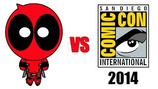 Deadpool vs Comic-Con 2014