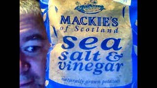 Mackie's of Scotland Sea Salt & Vinegar Potato Crisps