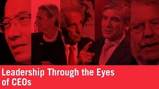 Leadership Through the Eyes of CEOs