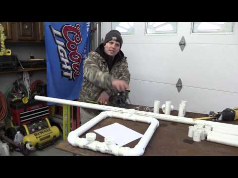 how to make a compound bow out of pvc
