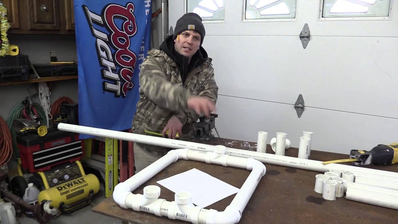 Bow Stand Pvc Youtube