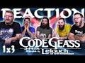 Code Geass 1x3 REACTION!!