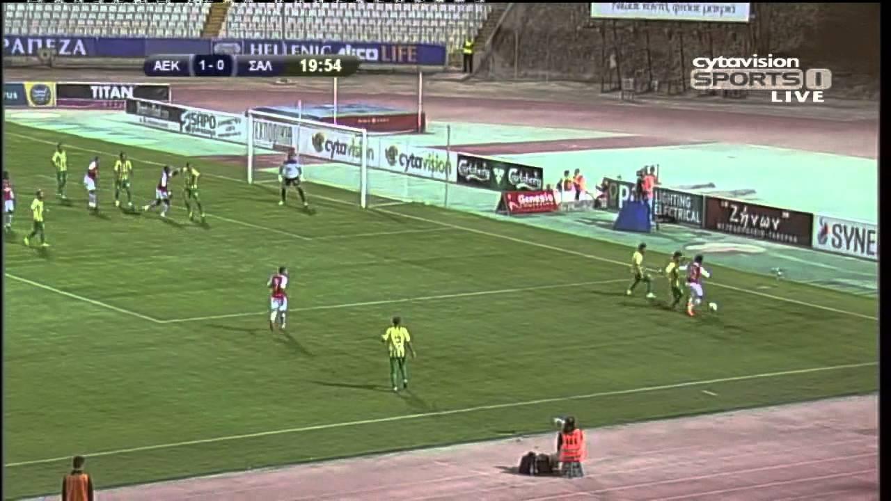 AEK Larnaca 2-0 Nea Salamis