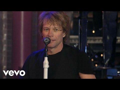 Bon Jovi - Livin' On A Prayer (Live @ Letterman)