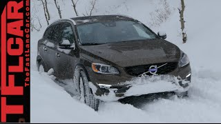 2015 Volvo V60 Cross Country Snowy Off-Road AWD TFL4K Review