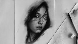Park Shin Hye pencil drawing - Vẽ chân dung Park Shin Hye - DP Truong