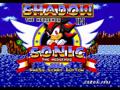 Shadow the Hedgehog - Shadow the Hedgehog in Sonic 1[Long Play] - User video