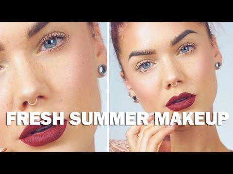 How To Get A Fresh Summer Look | Linda Hallberg Tutorial