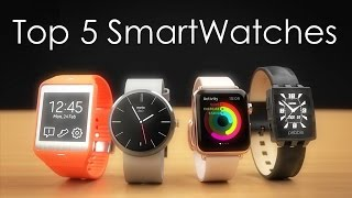 Top 5: SmartWatches (2015)