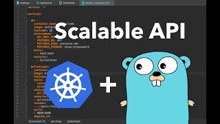 Live building a scalable API in Go with Kubernetes
