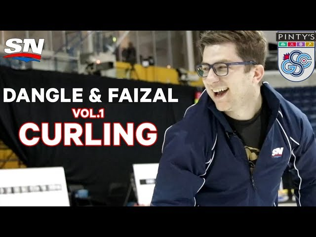 Dangle and Faizal Do Sports - Episode 1 - Learning To Curl
