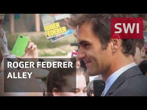 Tennis star gets his own street
