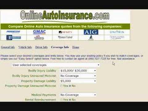 auto insurance quotes tutorial